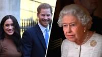 Familia real llega a acuerdo sobre futuro del príncipe Harry y Meghan