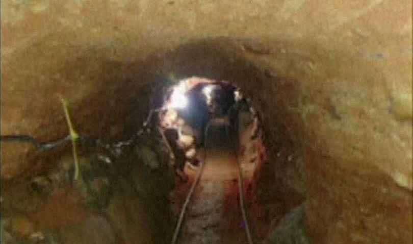 Tunel frontera mexico