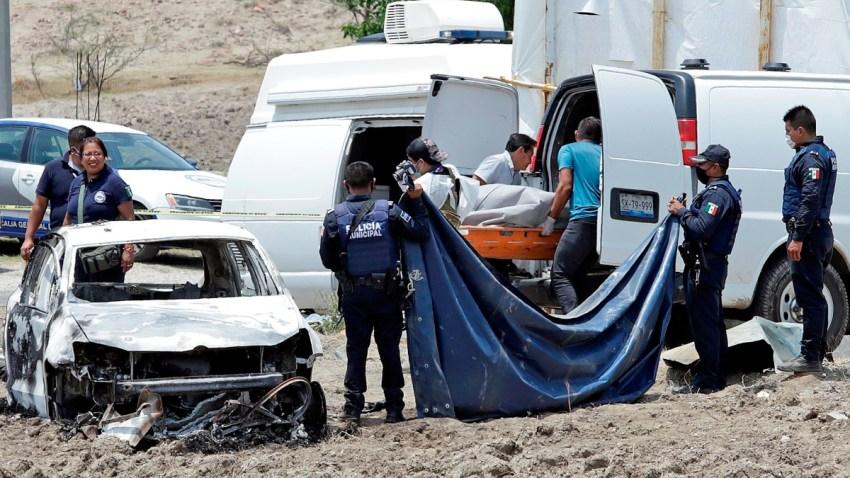 Escena de crimen en Puebla