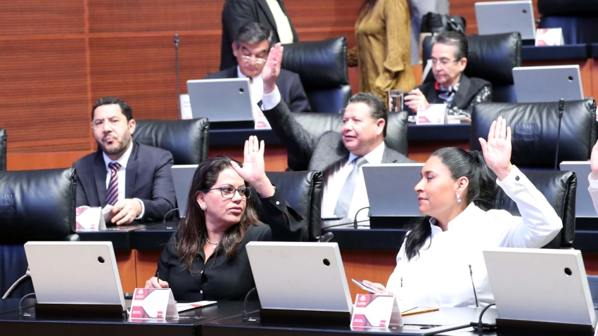 Senadores mexicanos ratifican tratado comercial