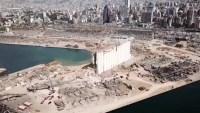Desde el aire: así se ve hoy la zona devastada por la descomunal explosión en Beirut