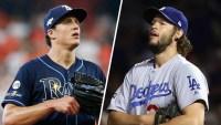 Rays y Dodgers a la Serie Mundial: comienza el duelo con Glasnow y Kershaw en la lomita