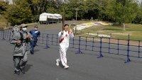 Se mantiene la tradición con unos cambios: la antorcha olímpica recorre un parque en Osaka