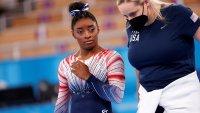 """""""No fue fácil"""": Simone Biles revela que su tía murió en medio de los Juegos Olímpicos"""